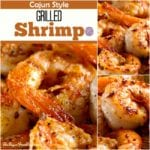 Sugar Free Cajun Styled Grilled Shrimp Recipe