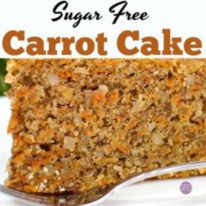 Sugar Free Carrot Cake