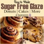 Sugar Free Glaze Recipe for Baked Goods