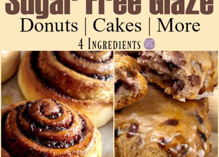 Sugar Free Glaze Recipe for Baked Goods