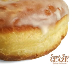 How to Make Sugar Free Glaze