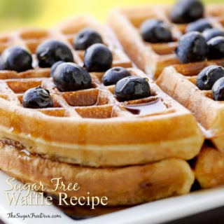 The Recipe for Sugar Free Waffles