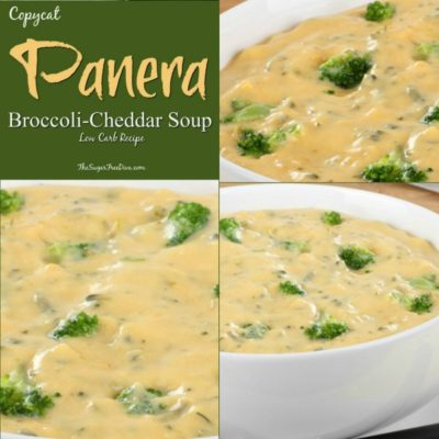 Low Carb Copycat Panera Broccoli Cheddar Soup