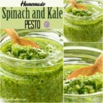 Homemade Spinach and Kale Pesto Recipe