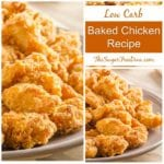 LOW CARB Baked Chicken Recipe