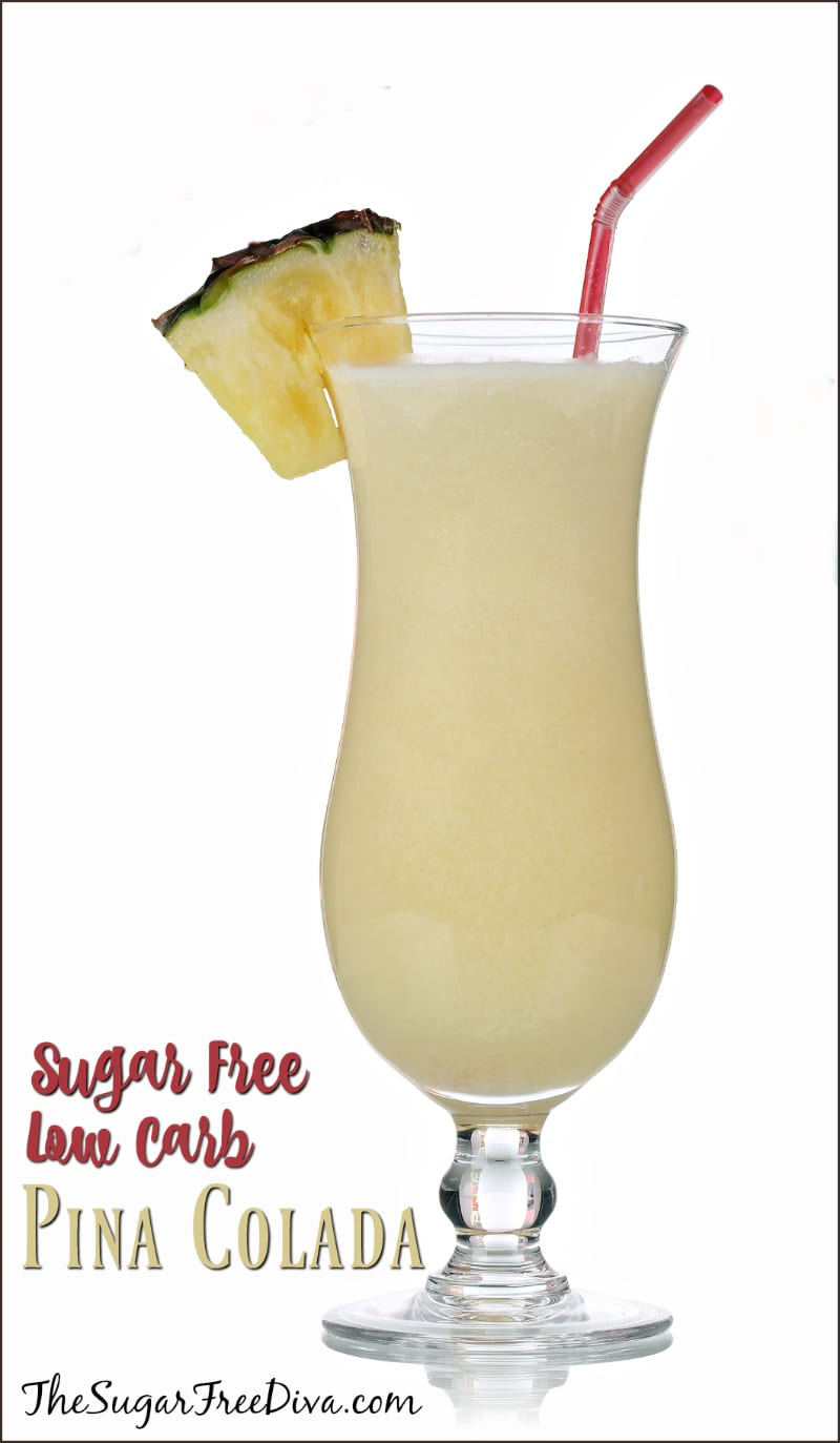 How to Make a Sugar Free Pina Colada