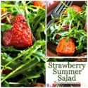 Quick and Easy Strawberry Vinaigrette Salad