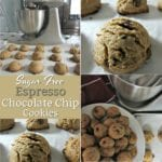 Sugar Free Espresso Chocolate Chip Cookies