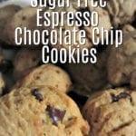 Sugar Free Espresso Chocolate Chip Cookies @BestBuy @KitchenAidUSA