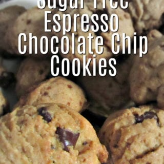 Sugar Free Espresso Chocolate Chip Cookies @BestBuy @KitchenAidUSA