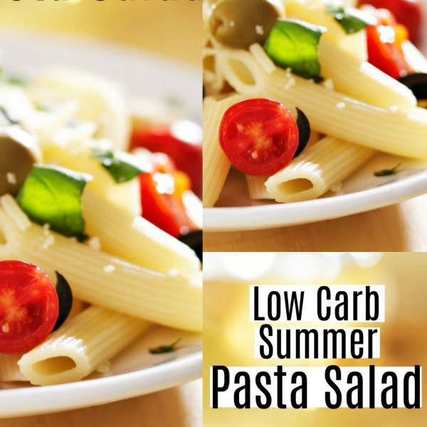 simple and tasty low carb summer pasta salad recipe. Black Bedroom Furniture Sets. Home Design Ideas