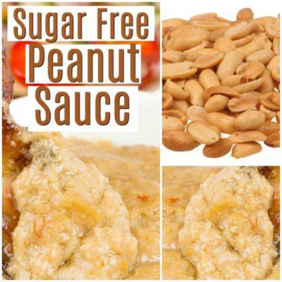 Sugar Free Peanut Sauce Recipe
