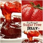 Homemade Sugar Free Strawberry Jelly