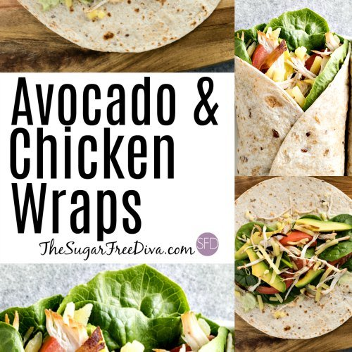 Avocado and Chicken Wraps