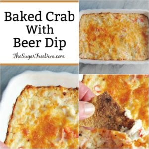 Baked Crab (With Beer!) Dip