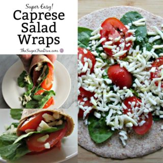 Caprese Salad Wraps