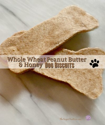 Whole Wheat Peanut Butter & Honey Dog Biscuits