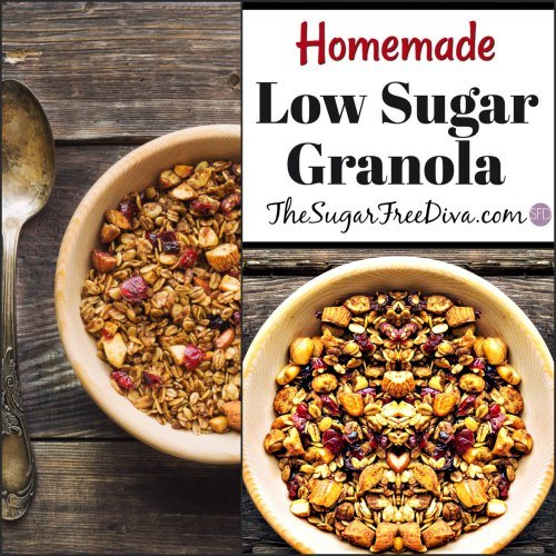 Low Sugar Homemade Granola