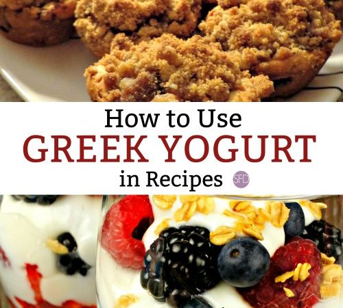 How to Use Greek Yogurt as a Substitute in Recipes