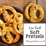 Homemade Low Carb Soft Pretzels