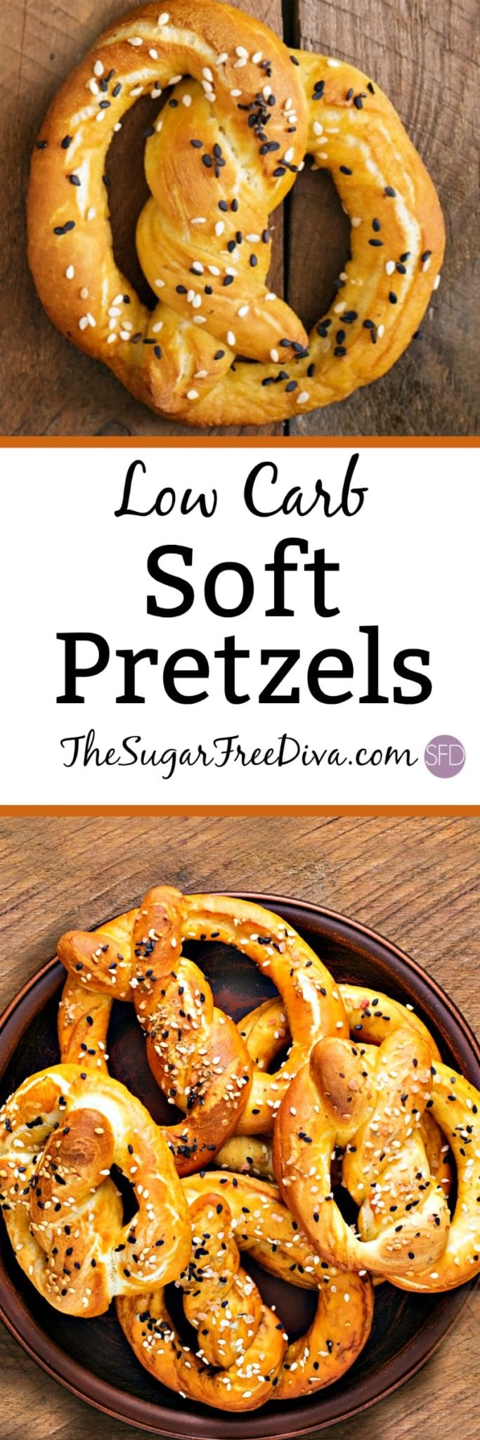 Homemade Low Carb Soft Pretzels