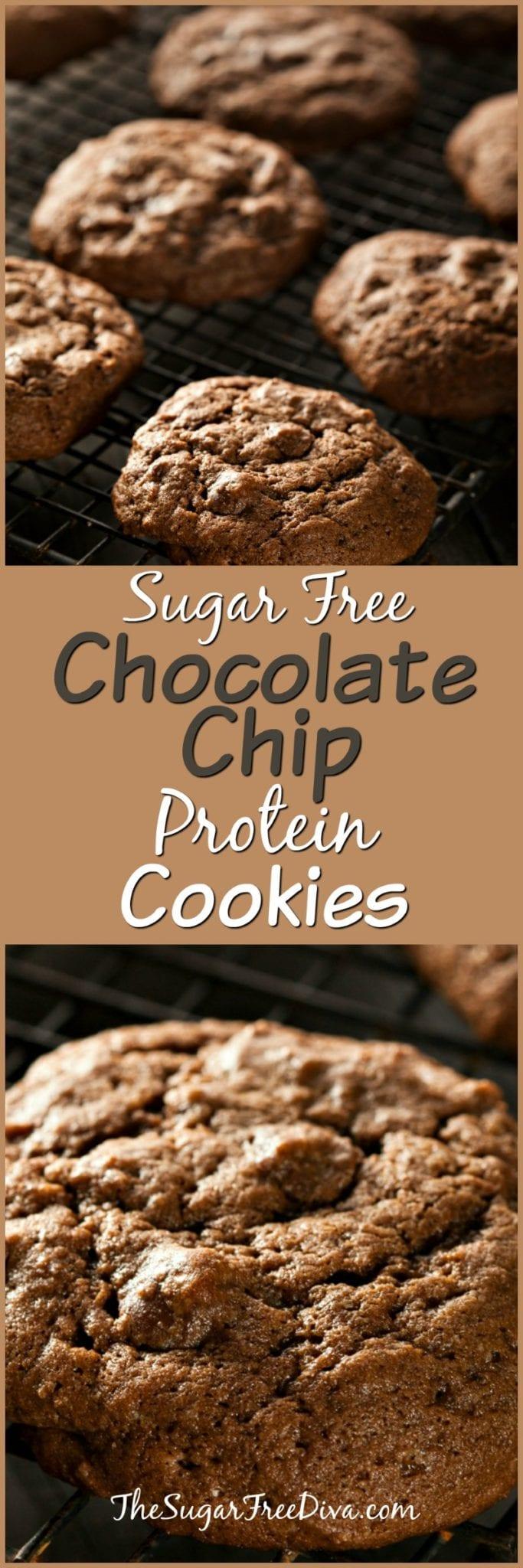 Sugar Free Protein Cookies