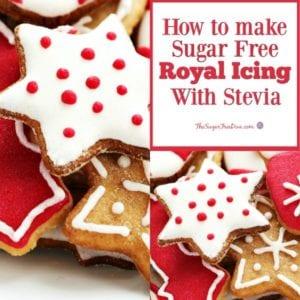 How to Make Sugar Free Royal Icing with Stevia