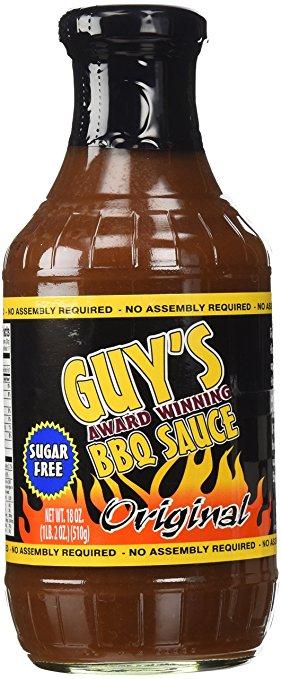 Guys Award Winning Sugar Free BBQ Sauce