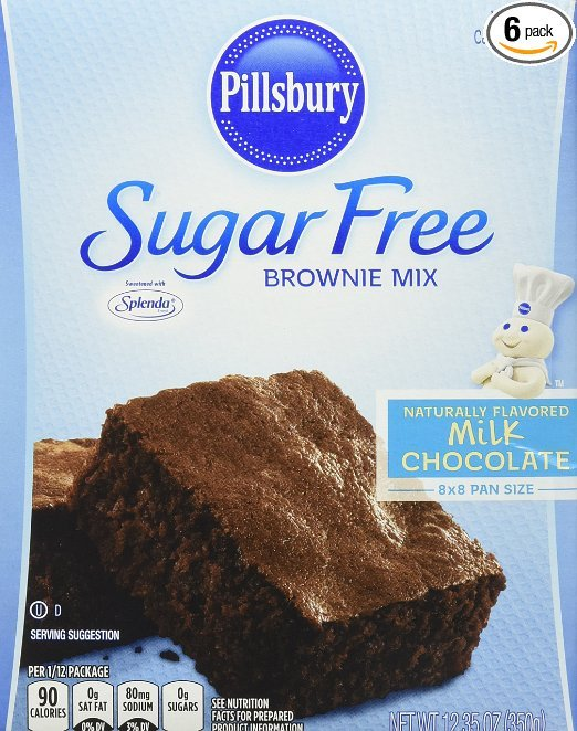 The Sugar Free Listing Of Products Such As Sugar Alternatives