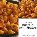Oven Baked Buffalo Cauliflower