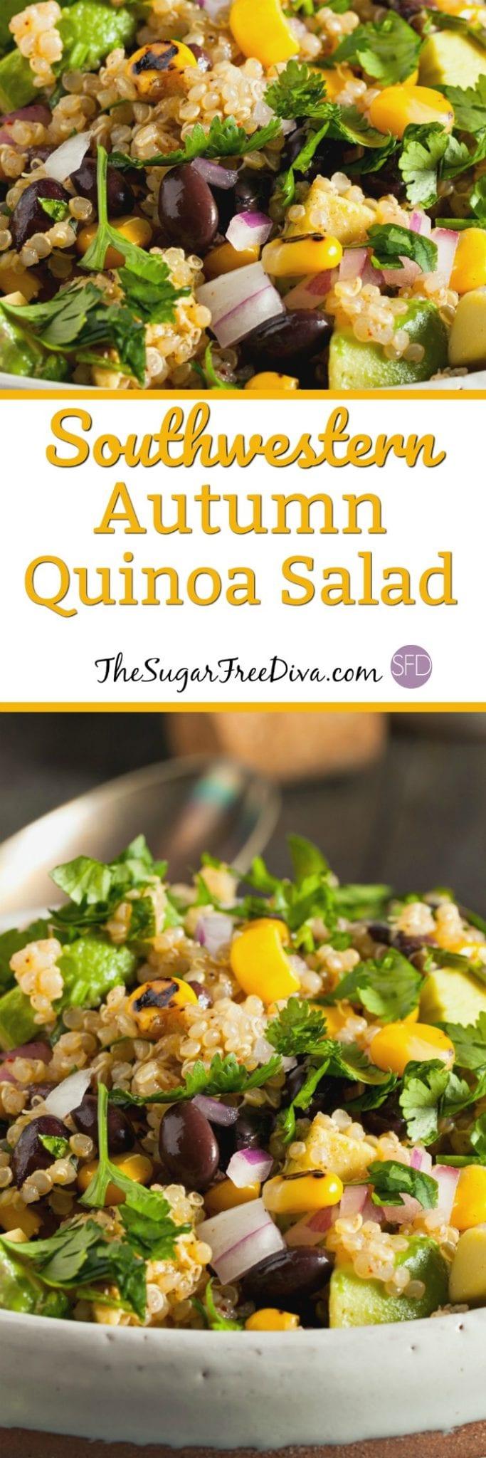 Southwestern Autumn Quinoa Salad