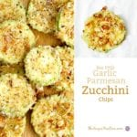 Low Carb Garlic Parmesan Zucchini Bites