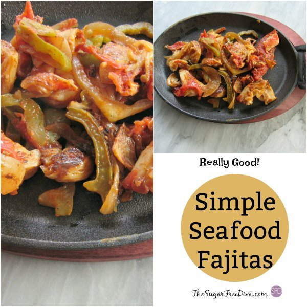 Simple Seafood Fajitas
