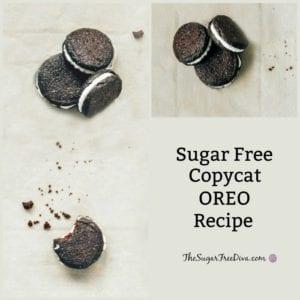 Sugar Free Copycat Oreo