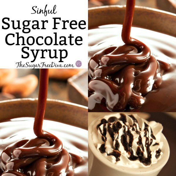 How to Make Sugar Free Chocolate Syrup