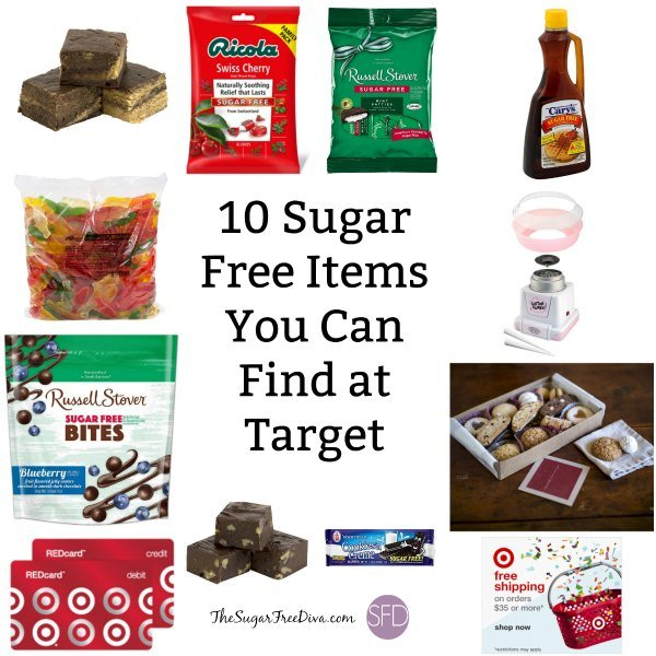 10 Sugar Free Items You Can Find at Target