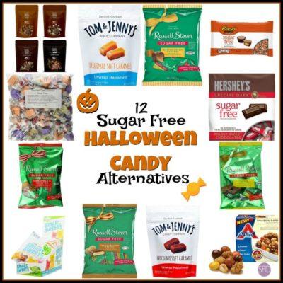 12 Sugar Free Halloween Candy Alternatives