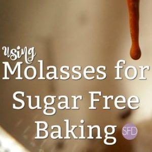 Molasses for Sugar Free Baking