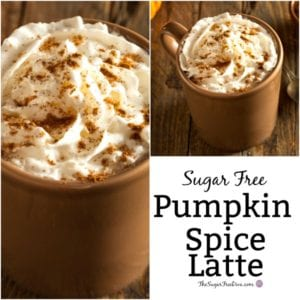 How yo Make a Sugar Free Pumpkin Spice Latte