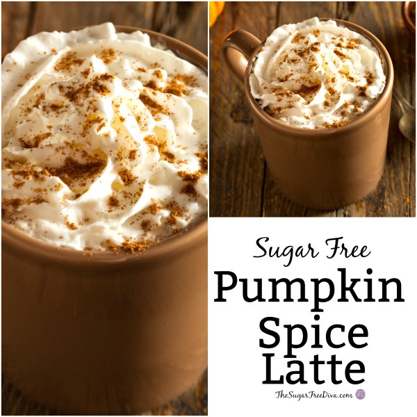How to Make a Sugar Free Pumpkin Spice Latte