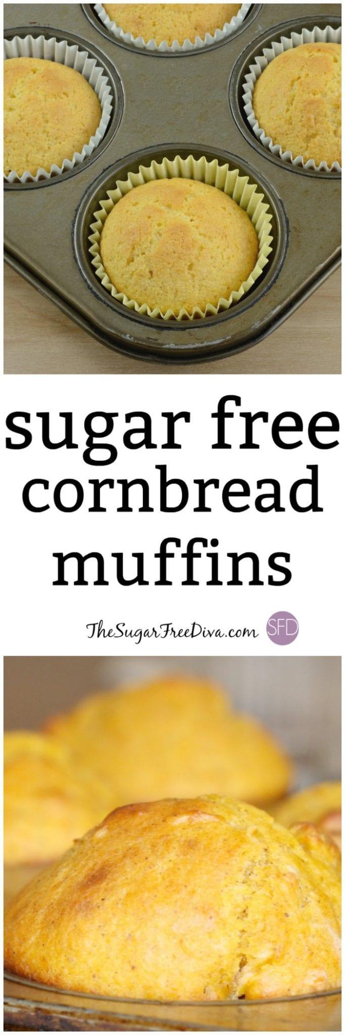 Sugar Free Cornbread Muffins
