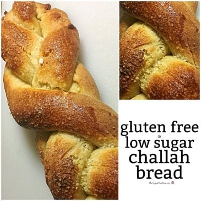 Gluten Free and Low Sugar Challah Bread