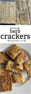 Homemade Herb Crackers