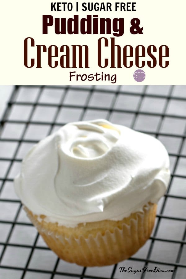 Sugar Free Pudding and Cream Cheese Frosting