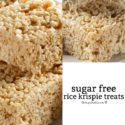 How to Make Sugar Free Rice Krispie Treats