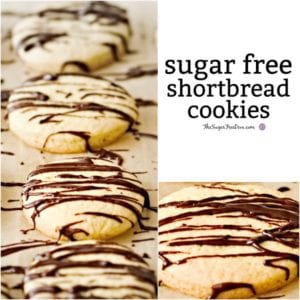 Sugar Free Shortbread Cookies
