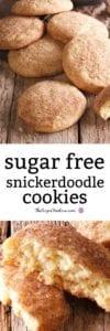 Sugar Free Snickerdoodle Cookies