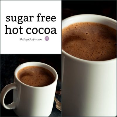 How to Make the BEST Sugar Free Hot Cocoa