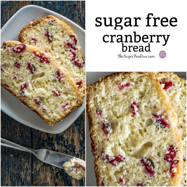 Sugar Free Cranberry Bread Recipe
