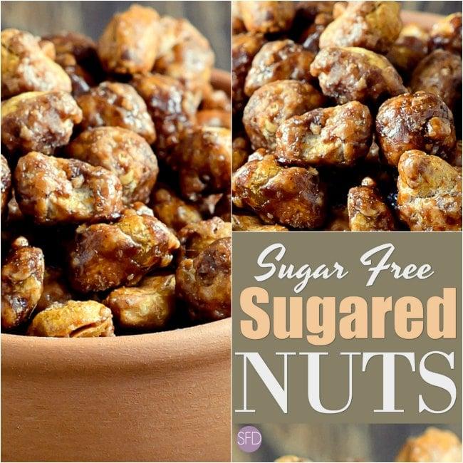 How to Make Sugar Free Stevia Coated Nuts